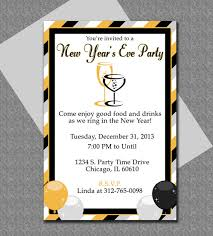 new year u0027s microsoft word invitation template newyearsparty