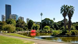 City Botanic Gardens Royal Botanic Gardens City Of Sydney
