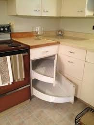 Pull Out Corner Base Cabinet Great Idea For The Corner - Kitchen cabinets corner drawers