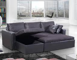 canapé d angle convertible noir pacific noir canapés d angle salon salle à manger