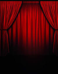 Studio Curtain Background 5x7ft Red Curtain Stage Performance Vinyl Background Photography
