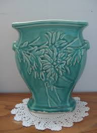 Mccoy Vase Value Mccoy Turquoise Flower Vase Turquoise Pottery Pinterest
