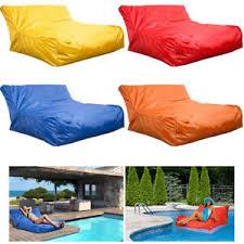 swimming pool floating bean bag indoor outdoor waterproof lounge