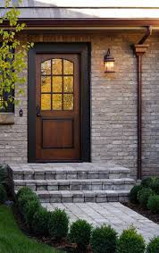 Plain Exterior Doors Exterior Door That Looks Incredibly Welcoming Despite The Plain