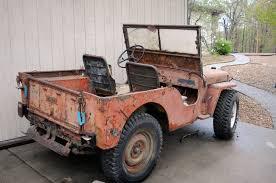 wwii jeep for sale cj2a willys jeep cj2a 4wd 4x4 dana 44 willys cj2a jeep cj2a