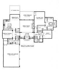 perfect floor plan house plan main floor plan 91 117 153 1945 the plan collection