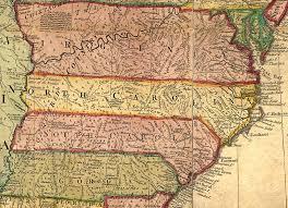 map of virginia and carolina early eastern nc indians carolina south carolina