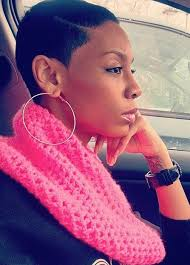 black women low cut hair styles short hairstyles and cuts natural super low deep part