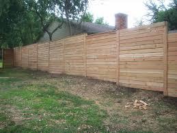 horizontal privacy fence designs home u0026 gardens geek