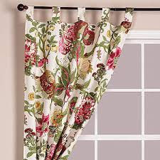 vivian floral curtain panel window panels cost plus worl
