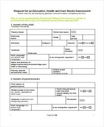training needs analysis template 8 free word pdf