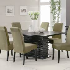 dining room table centerpiece ideas unique rectangle brown teak