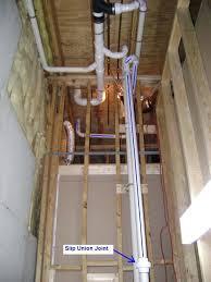 Adding A Bathroom Basement Bathroom Sewage Basin Vent Pipe To The Roof Adding