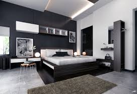 White And Blue Modern Bedroom Bedroom Furniture Modern Black Bedroom Furniture Compact Painted
