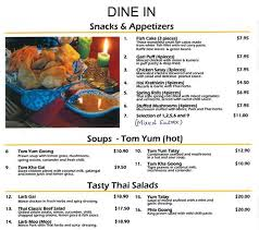 baan cuisine baan menu menu for baan hamilton central hamilton