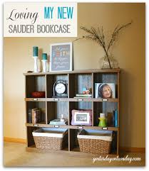 Sauder Furniture Bookcase Loving My New Bookcase Yesterday On Tuesday
