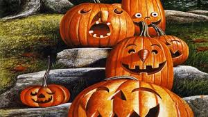 halloween pumpkin backgrounds desktop cute halloween wallpapers for desktop wallpapersafari