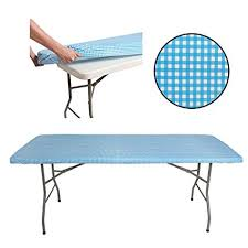 tablecloth for 6 foot folding table amazon com tablecloth for 6ft folding table fitted rectangular