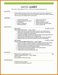 Best Resume Format For Teachers examples of resumes best way to format your resume inside the 87