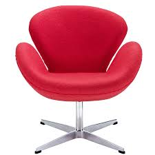 Swan Chair Leather Arm Chairs