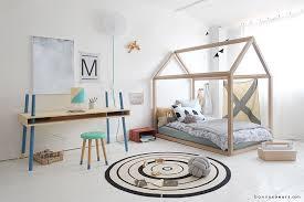 chambre design enfant bonnesoeurs lit maison