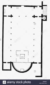 Church Floor Plans by Architecture Floor Plans Church Saint Martin Of Tours Built 4th