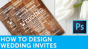 Wedding Invitation Card Design Software Free Download How To Design A Wedding Invitation In Adobe Photoshop Solopress