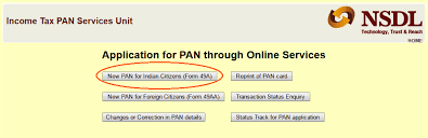 pan card application how to apply for pan online in india rupeefox