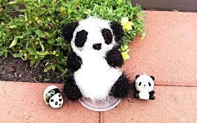 diy how to make a panda using my super easy way youtube