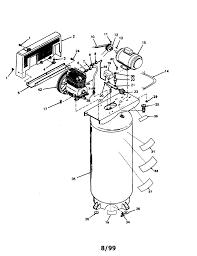220 Air Compressor Wiring Diagram Craftsman Air Compressor Parts Model 919184160 Sears Partsdirect