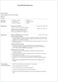 social work resume templates skills for social work resume ceciliaekici