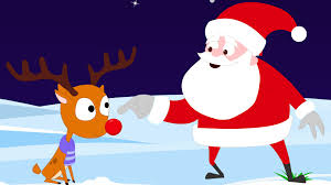 rudolph red nosed reindeer christmas carols kids tv nursery