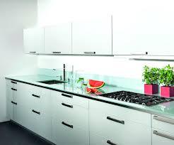 plan de travail cuisine verre plan de travail cuisine en verre en plan de travail en verre trempac
