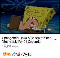 Spongebob Licking Meme - 25 best memes about spongebob licking spongebob licking memes