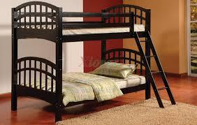 Bunk Beds Black Achird Bunk Beds In Black And White Xiorex