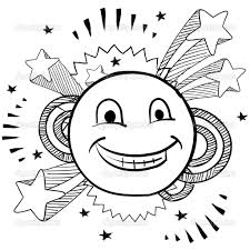 face coloring pages