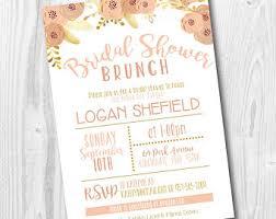 wedding shower brunch invitations bridal shower brunch etsy
