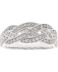 braided band deals on otc international ltd sterling silver 1 2 cttw braided