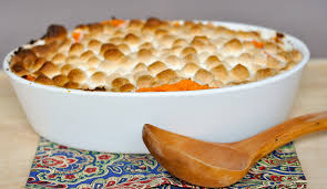 thymes and food sweet potato carrot casserole