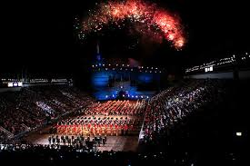 Wildfire Edinburgh Book by The Citadel Regimental Band And Pipes Invades Scotland Features