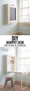 Fold Out Desk Diy Ryobi Nation Murphy Desk Desks Third And Free