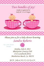 twin baby shower invitations best shower