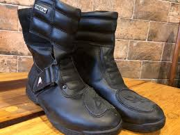 leather motorbike boots ladies akito leather motorbike boots size 7 in waterlooville