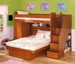 Bedroom Cool Bedroom Decoration Using Solid Maple Ikea Wooden Bunk - Ikea wood bunk bed