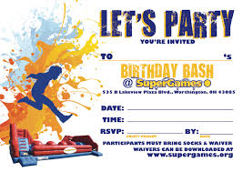 birthday parties columbus ohio inflatables indoor supergames