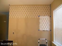 stencil wall03 jpg 1600 1200 master bedroom pinterest