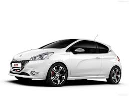 peugeot white peugeot 208 gti 2014 pictures information u0026 specs