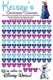 10 printable disney countdown calendars baby