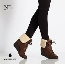 s ugg australia brown zea boots ugg australia zea lace up stout waterproof leather wedge bootie