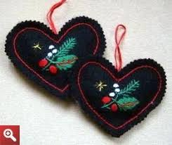1303 best images about felt on brooches felt hearts